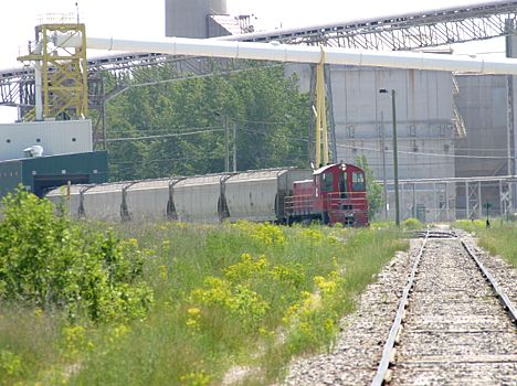 LaFarge Plant Switcher in Alpena
